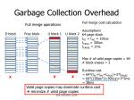 garbage collection overhead