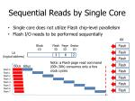 sequential reads by single core