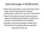data exchange in iges contd