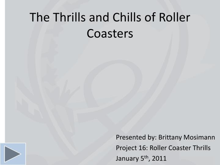 the thrills and chills of roller coasters n.