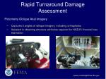 rapid turnaround damage assessment2