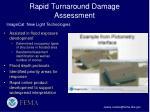 rapid turnaround damage assessment3