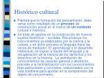 hist rico cultural