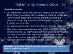 tratamiento inmunol gico