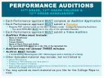 performance auditions 11 th grade 12 th grade college 12 th grade scholarship