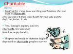 charitable adjective