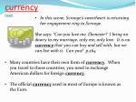 currency noun