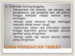 cara pembuatan tablet1