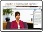 snapshot of the simcoach character http labs simcoach org simcoach space mini character 3072