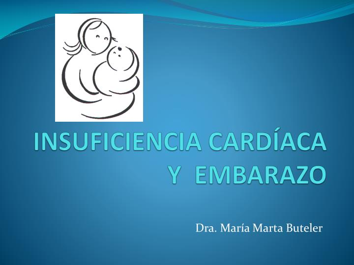 insuficiencia card aca y embarazo n.