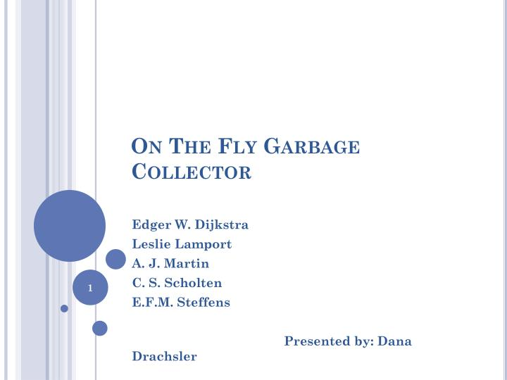 on the fly garbage collector n.