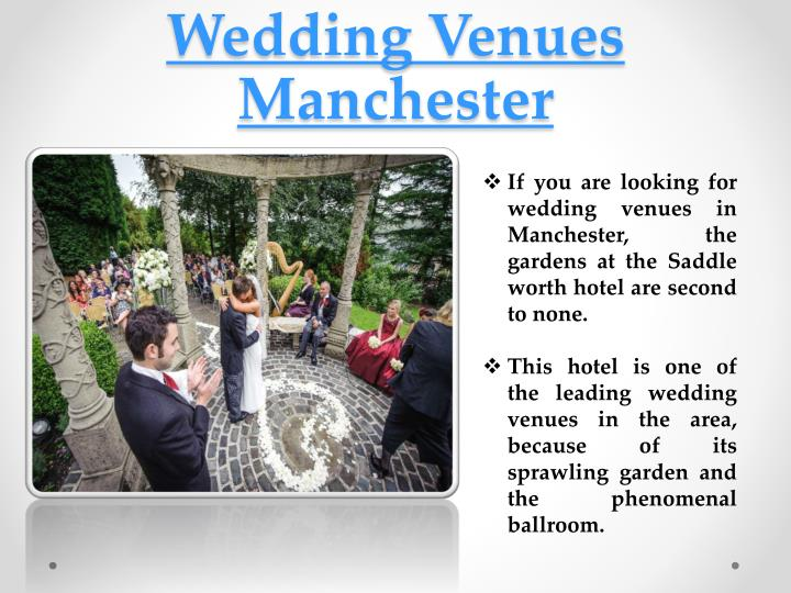 wedding venues manchester n.