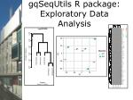 gqsequtils r package exploratory data analysis