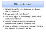 discuss in pairs