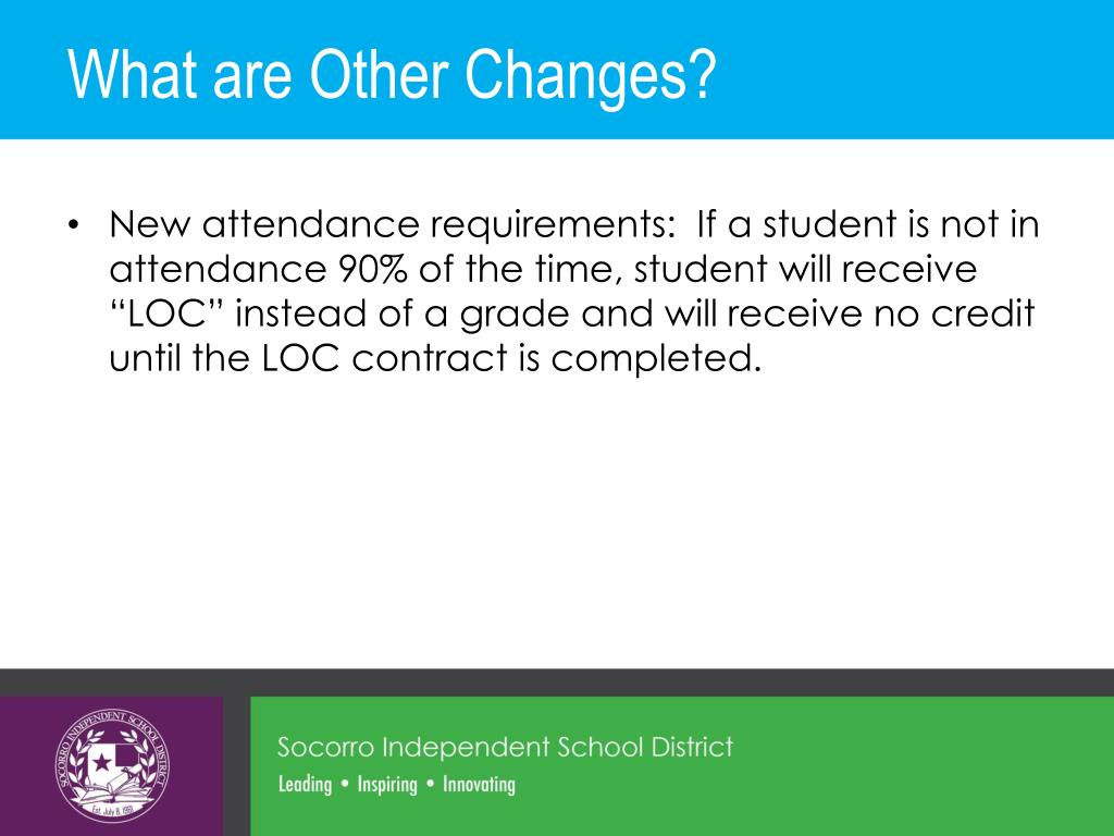 PPT - Implementing the New Graduation Plans in Socorro ISD ...