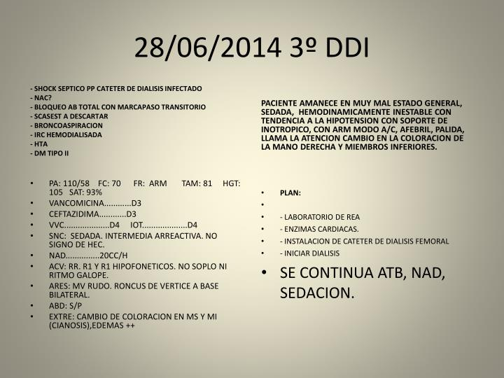 28/06/2014 3º DDI