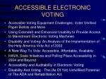 accessible electronic voting