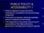 public policy accessibility 1