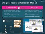 enterprise desktop virtualization med v