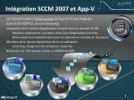 int gration sccm 2007 et app v