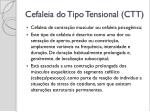 cefaleia do tipo tensional ctt