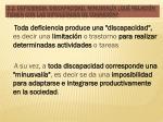 2 2 deficiencia discapacidad minusval a qu relaci n tienen con las dificultades de cognici n1