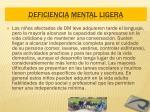 deficiencia mental ligera