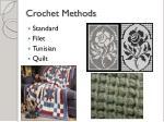 crochet methods