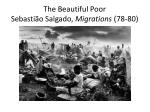 the beautiful poor sebasti o salgado migrations 78 80