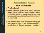 administrative record1