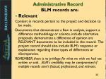 administrative record2