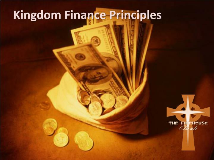 kingdom finance principles n.