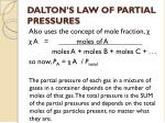 dalton s law of partial pressures1