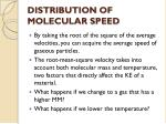 distribution of molecular speed2