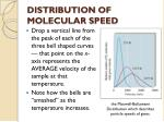 distribution of molecular speed4