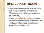 real vs ideal gases