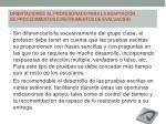 orientaciones al profesorado para la adaptaci n de procedimientos e instrumentos de evaluaci n
