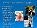 diferencias de aceptaci n social1