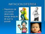 imitacion diferida