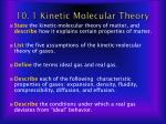 10 1 kinetic molecular theory