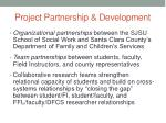 project partnership development