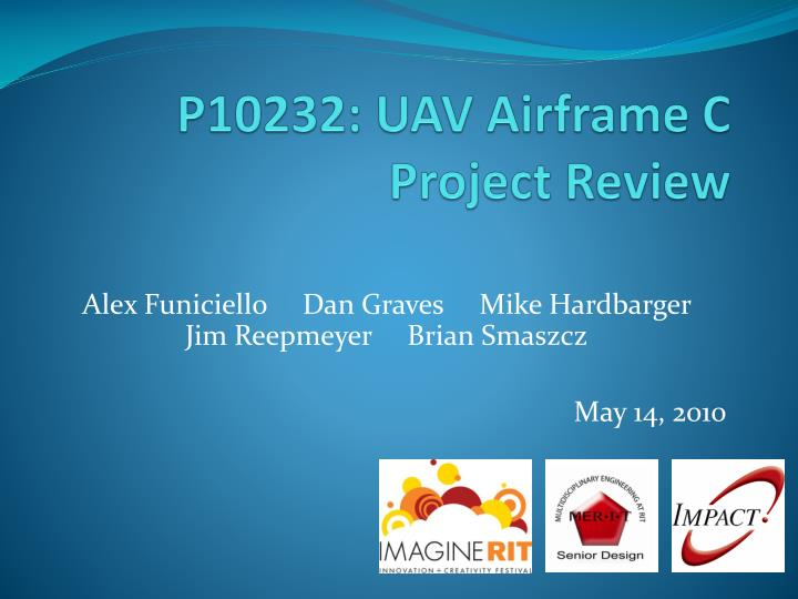 p10232 uav airframe c project review n.