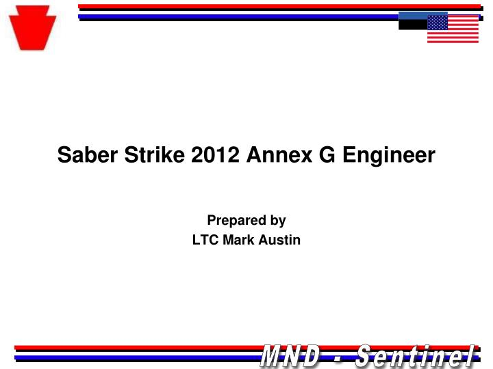 saber strike 2012 annex g engineer n.