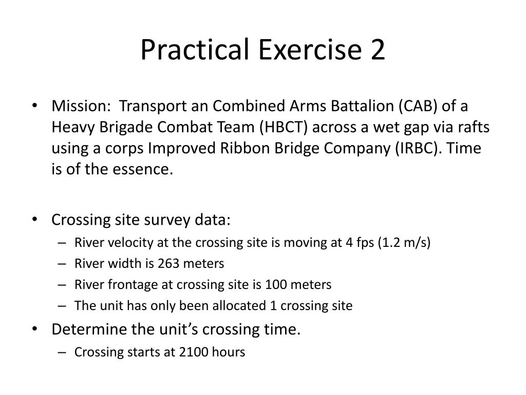 PPT - Engineer Gap Crossing Planning PowerPoint Presentation