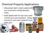chemical property applications