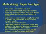 methodology paper prototype