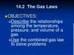 14 2 the gas laws