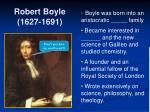 robert boyle 1627 1691