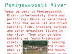 pemigewassett river