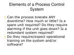 elements of a process control system3